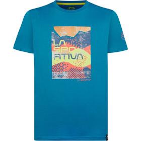 La Sportiva Patch T-shirt Herrer, neptune